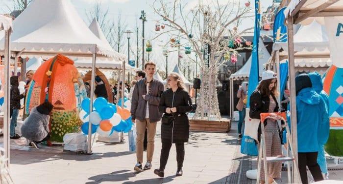 В Москве прошел первый студенческий Пасхальный фестиваль