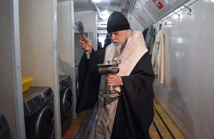 Прачечную для бездомных открыла в Москве служба «Милосердие»