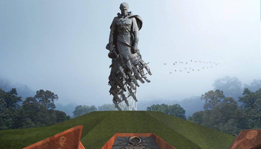 Началась отливка фигуры солдата для масштабного Ржевского мемориала