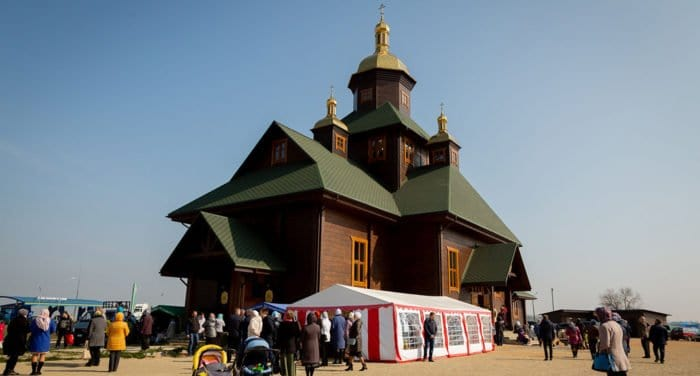 Храм преподобного Паисия Святогорца освятили в белорусском Слуцке