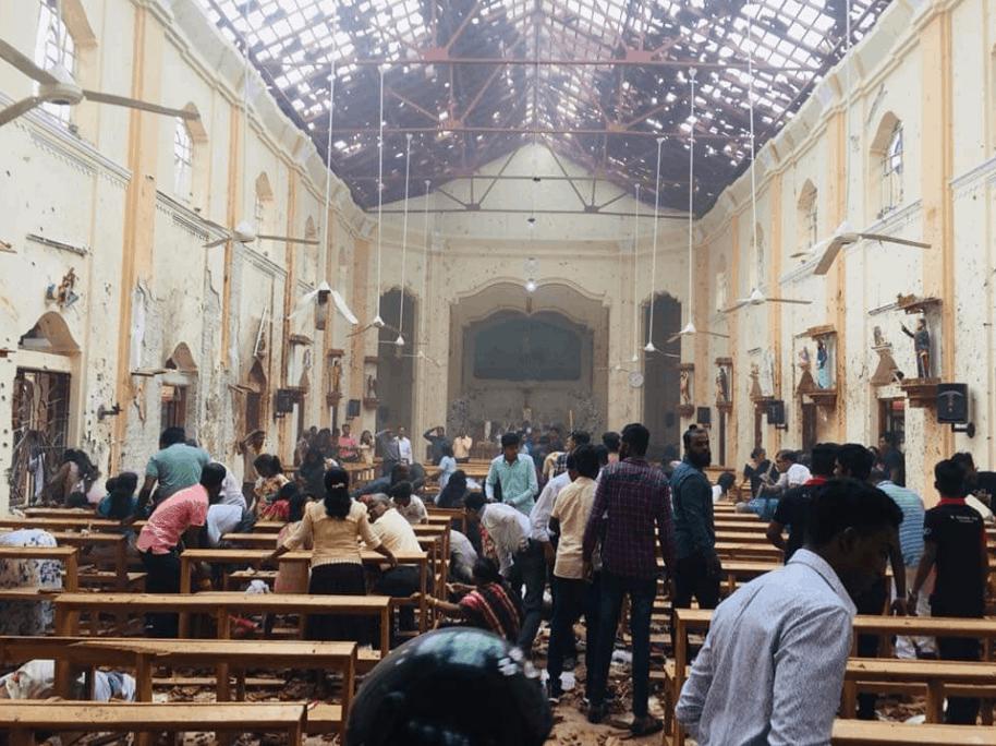 Серия взрывов на Шри-Ланке во время пасхальных торжеств