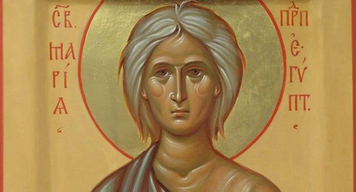 Церковь вспоминает подвиг преподобной Марии Египетской