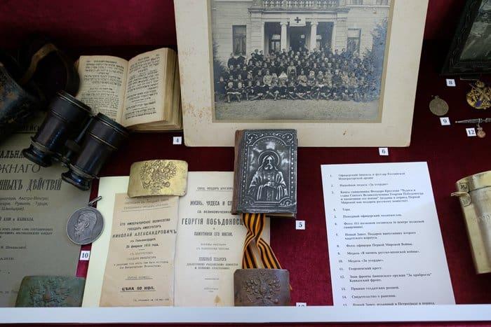 На выставке в Петербурге рассказывают о подвигах военных священников в ХХ веке
