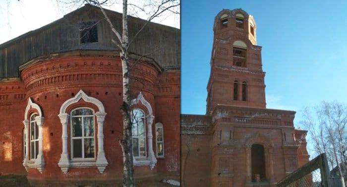 Нужна помощь храму в Кировской области, который строят с 1907 года
