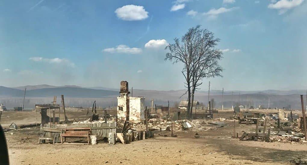 Читинская епархия собирает помощь пострадавшим от степных пожаров в Забайкалье