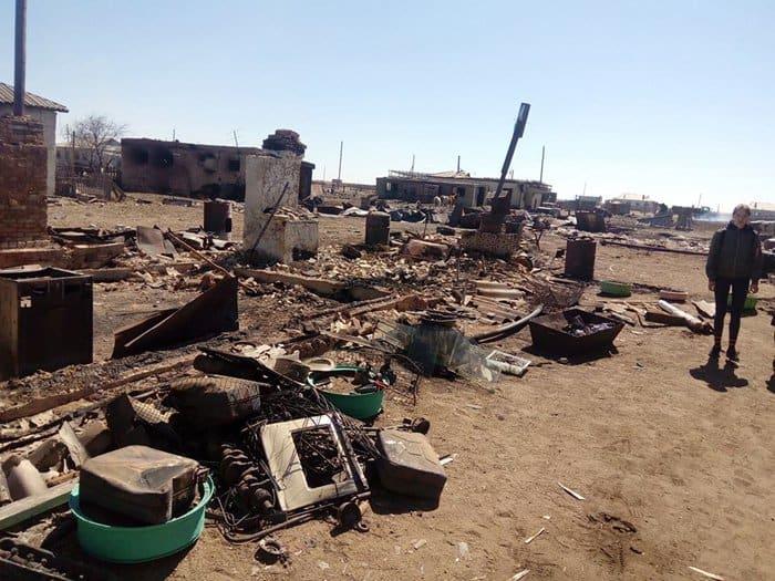 Забайкальская митрополия доставляет помощь, пострадавшим от степных пожаров