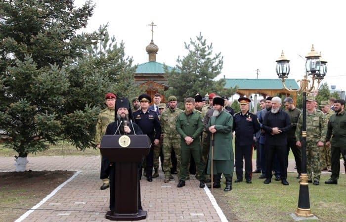 В Грозном заложили храм, который возведут к 75-летию Победы