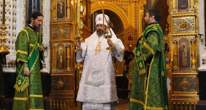 Настоятелем главного храма Вооруженных сил России назначен епископ Клинский Стефан