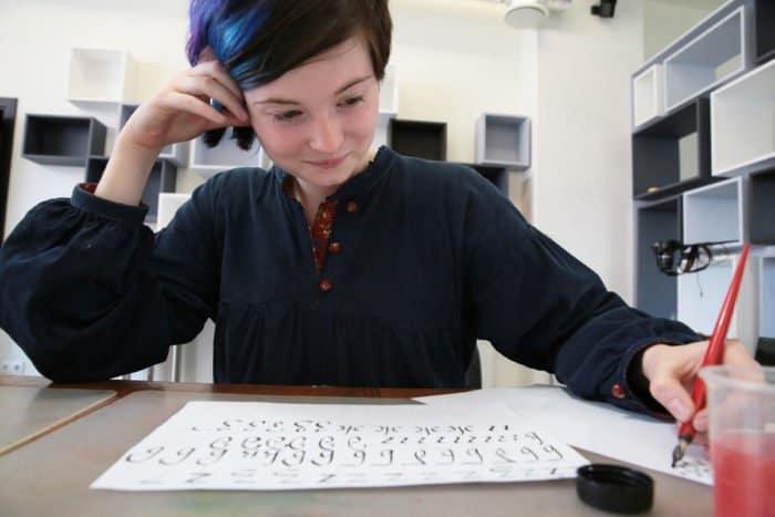 Каллиграфия: игры с буквами