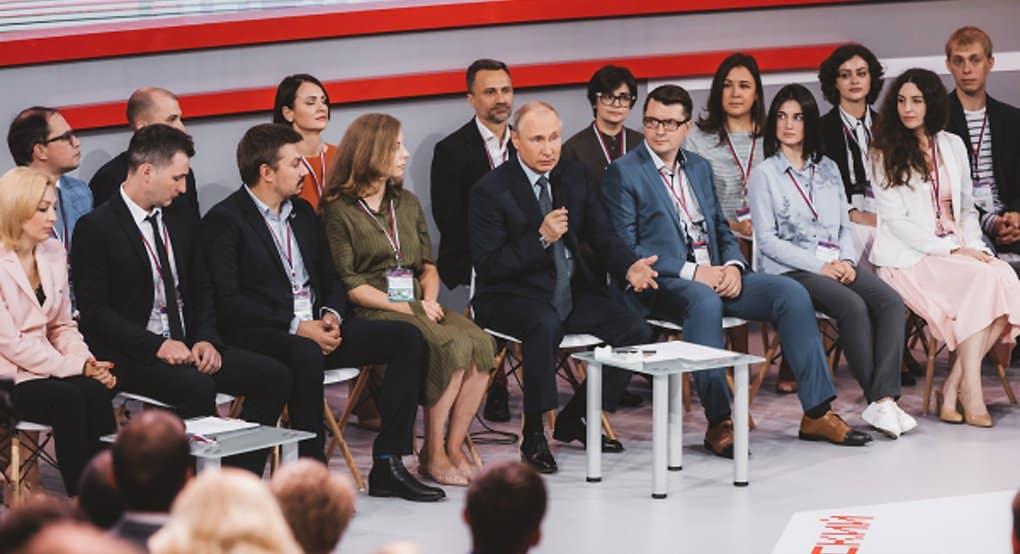 «Меньшинство должно подчиниться большинству»: Владимир Путин предложил провести опрос по храму в Екатеринбурге