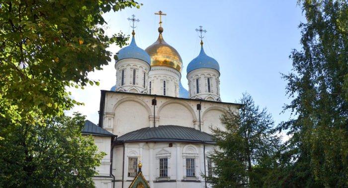В Новоспасском монастыре восстановят утраченные фрагменты росписи Спасо-Преображенского собора
