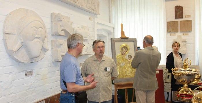 Выставка-мастерская лучших образцов церковного искусства открылась в Москве