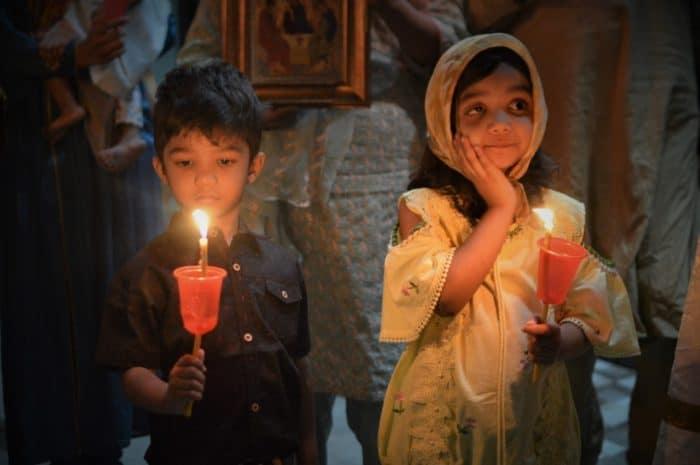 Как встречают Пасху в Пакистане: фото + видео