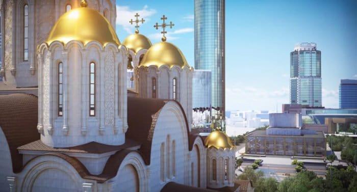 Место под строительство храма святой Екатерины в Екатеринбурге планируют выбрать 13 октября