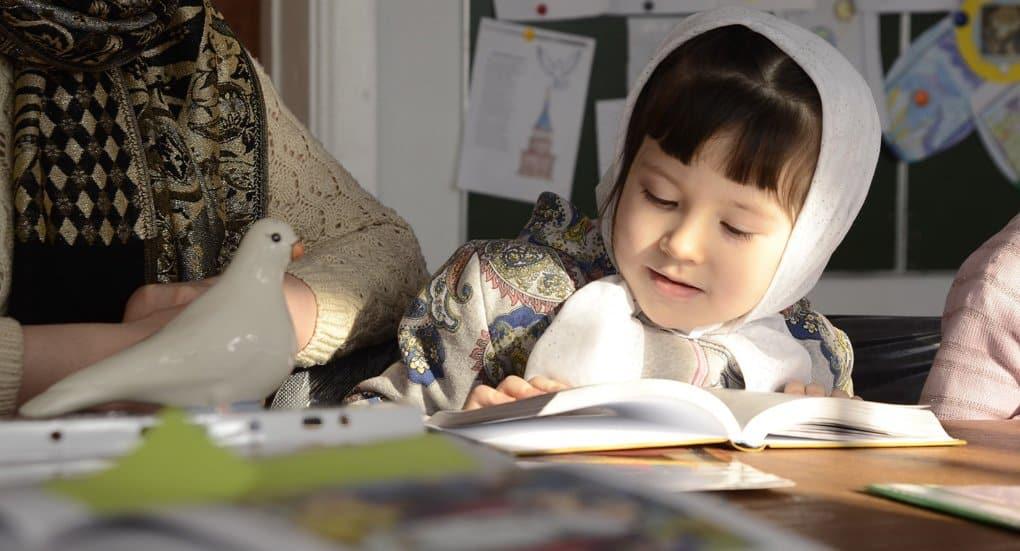 Как дети изучают Закон Божий в сибирской глубинке?