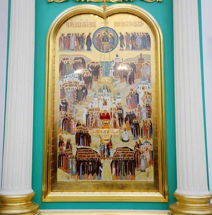 Церковь чтит память всех русских святых