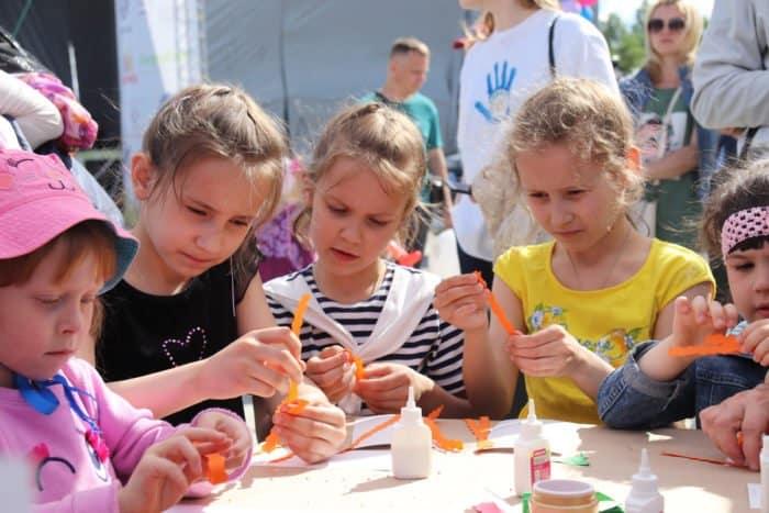 Оpen-air фестиваль «День детей и родительского счастья» прошёл в Ярославле