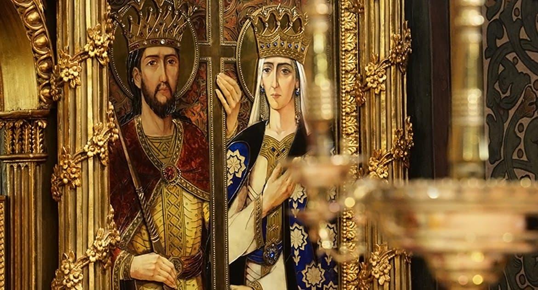 Церковь вспоминает святых царя Константина и его мать царицу Елену