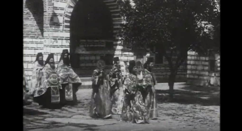 Опубликованы уникальные видеозаписи жизни на Афоне 100 лет назад