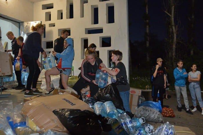 Саянская епархия доставила пострадавшим от паводка первую партию помощи