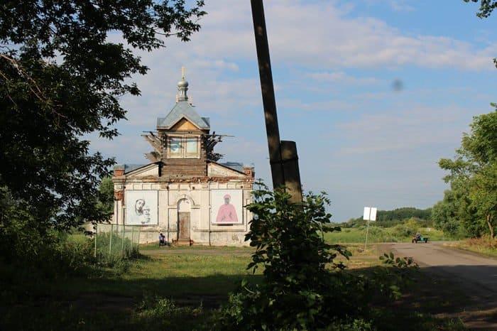 Первую Литургию с начала реставрации совершили в единственном в России храме святой Аллы