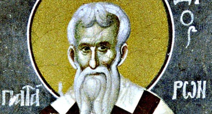 Церковь чтит память священномученика Мефодия Патарского
