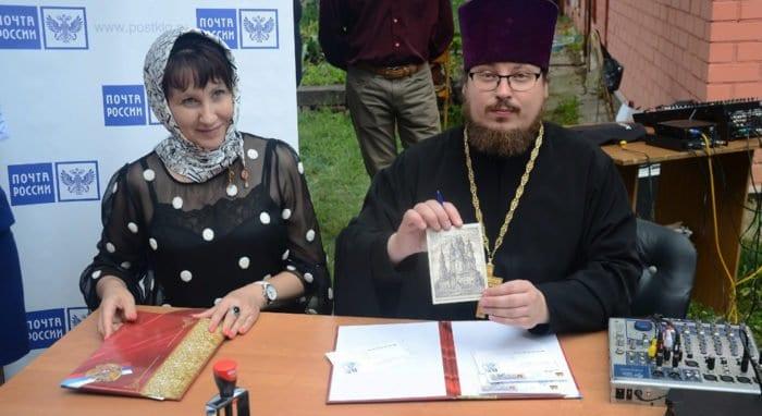 В честь 225-летия калужского храма Космы и Дамиана выпущена почтовая карточка
