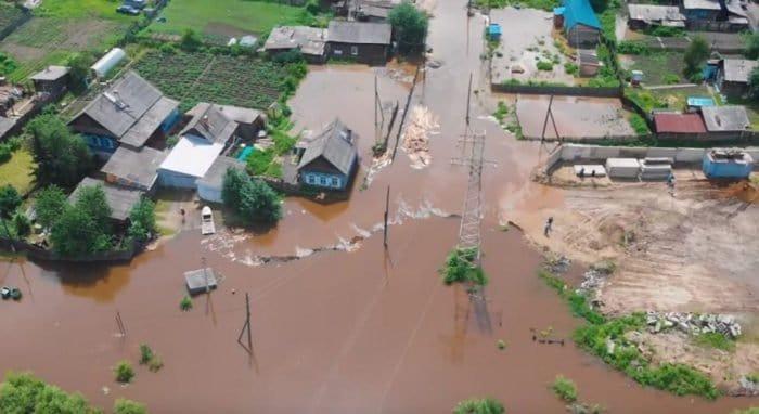 Церковь активно помогла и продолжает помогать пострадавшим от наводнения в Иркутской области