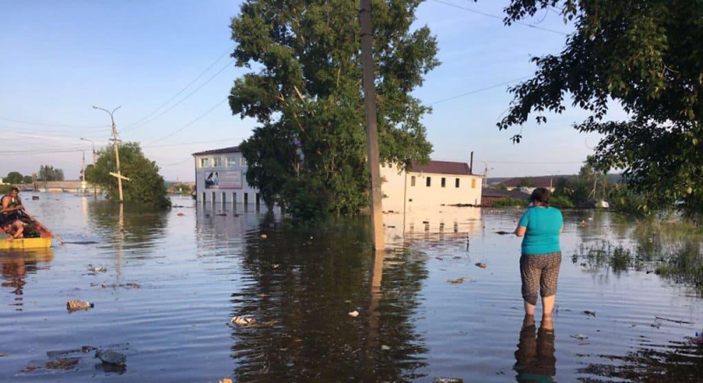 Саянская епархия собирает помощь для пострадавших от сильного паводка