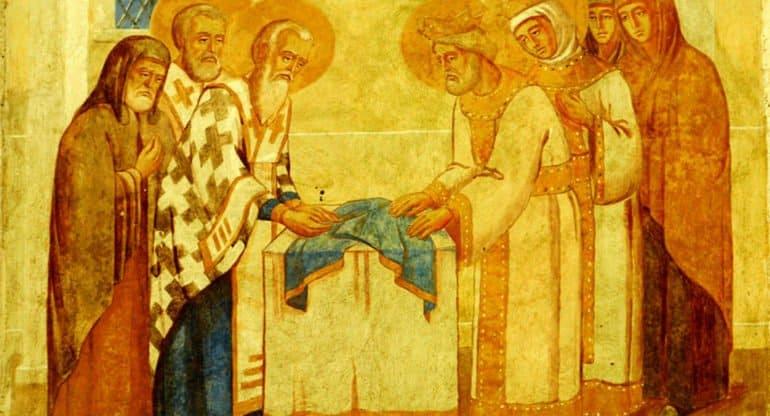 Церковь празднует Положение честной ризы Богородицы во Влахерне
