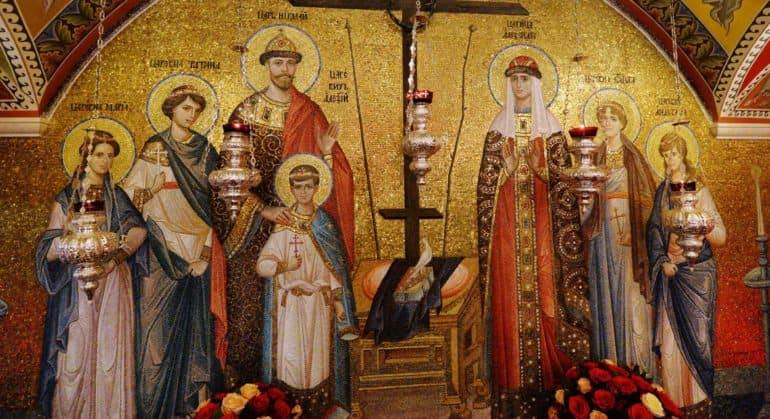 Церковь чтит память святых Царственных страстотерпцев