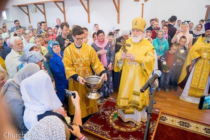 Первый храм Беларуси в честь праведного врача Евгения Боткина освятили в Минске