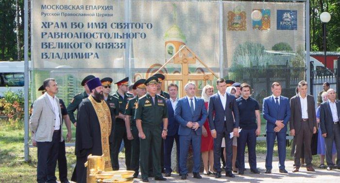 Глава Росгвардии принял участие в Литургии в честь дня Крещения Руси