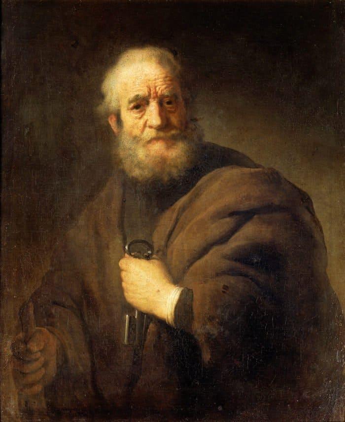 Апостол Петр – рыбак, ставший камнем в основании Церкви