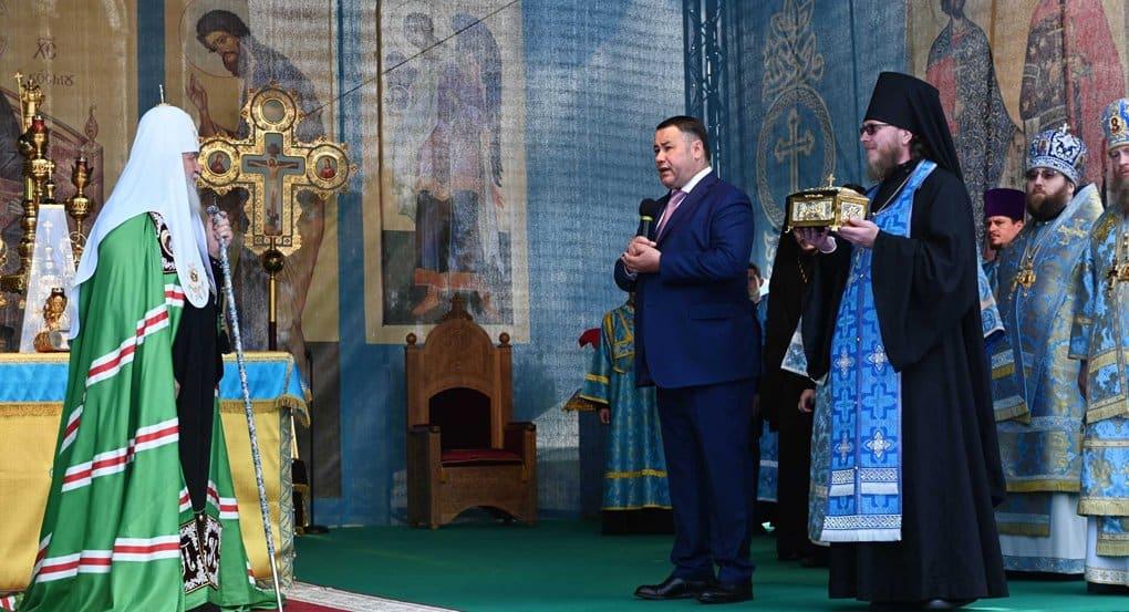 Борисоглебскому монастырю Торжка передали мощи небесного покровителя города