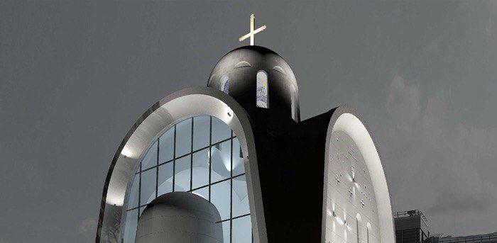 Проект московского храма со стеклянной стеной победил на международном конкурсе