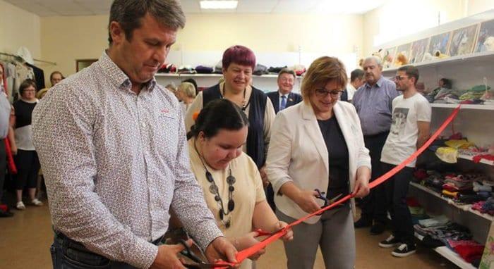 Пункт помощи нуждающимся семьям освятили в Краснознаменске