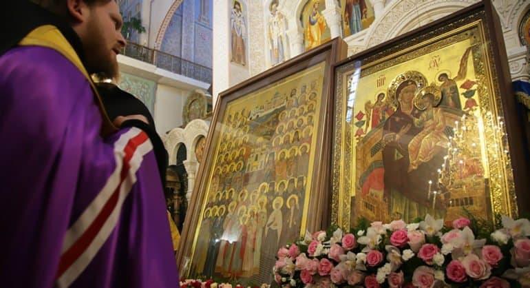 Церковь чтит икону Божией Матери «Всецарица»
