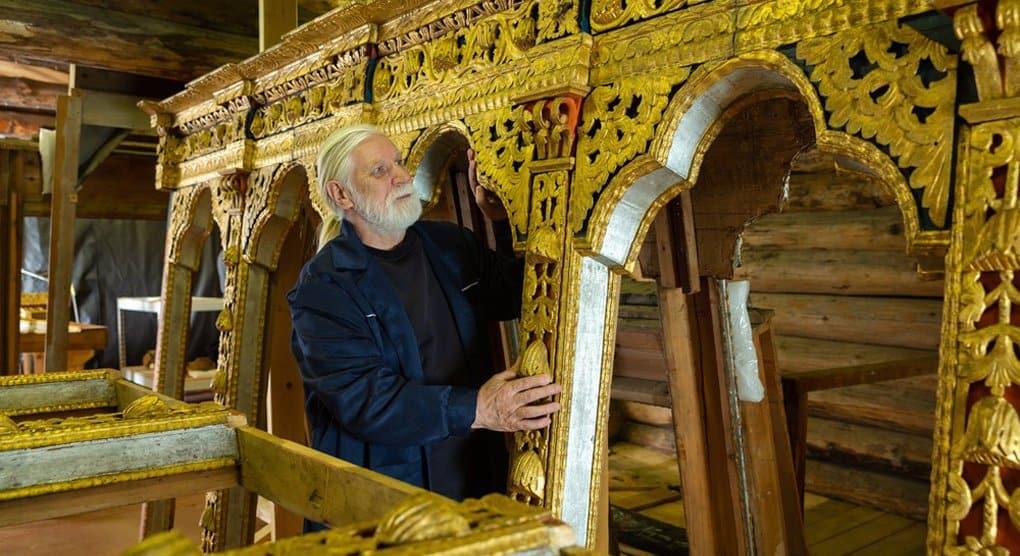 В сентябре начнут установку уникального иконостаса в Преображенской церкви Кижей