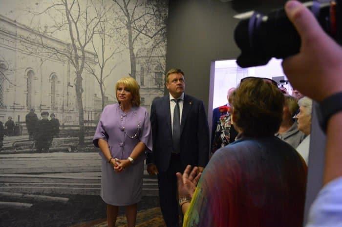 Музейный центр Александра Солженицына открыли в Рязани