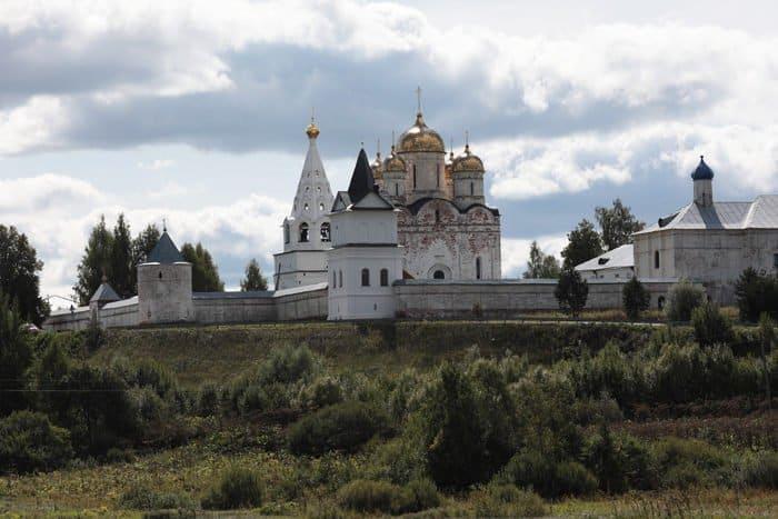 В Можайске освятили храм, который разорили французы и использовала под нужды Красная армия