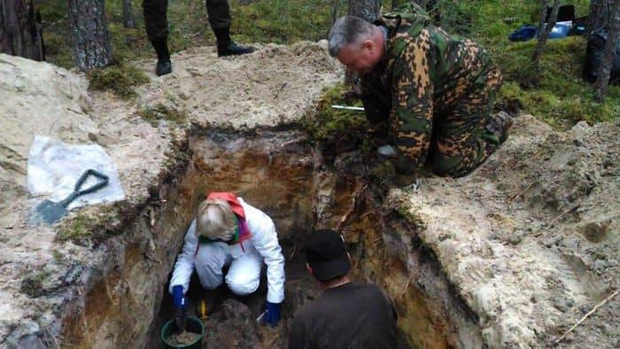 В Сандармохе нашли останки людей, которые могли быть узниками финских лагерей