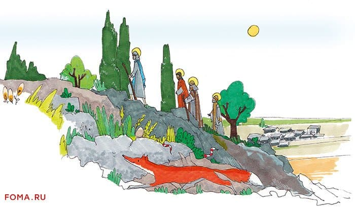 Преображение: чудо на горе Фавор