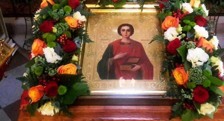 Церковь празднует память святого целителя Пантелеимона