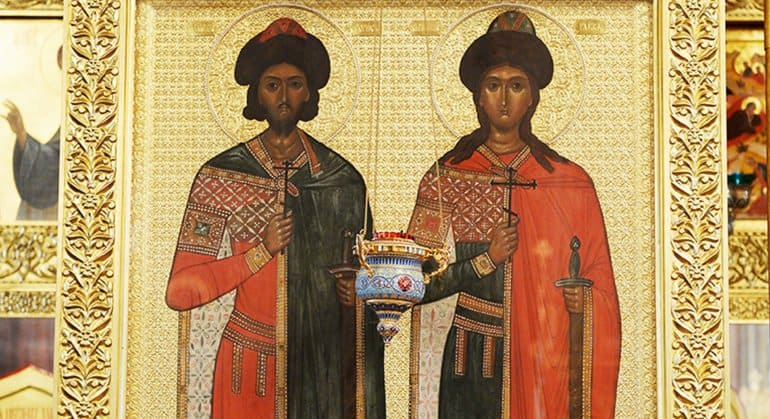 Церковь празднует память святых князей Бориса и Глеба
