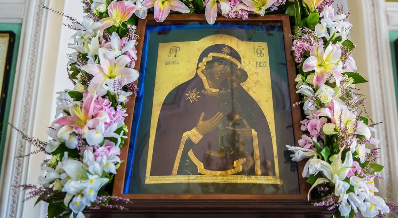 Церковь чтит Толгскую икону Божией Матери