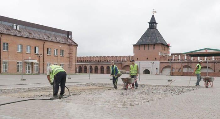 Фундамент храма XVII века нашли в Тульском кремле