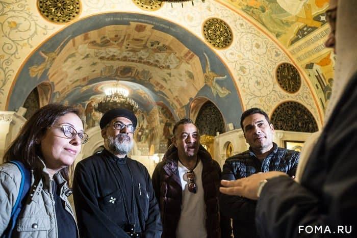 Представители медиацентра Коптской Церкви из Египта посещают Москву