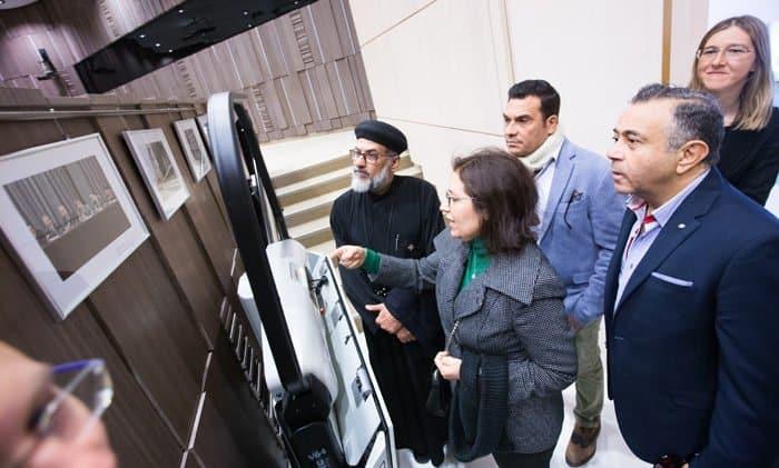 Делегация медиацентра Коптской Церкви побывала в гостях у «Фомы»