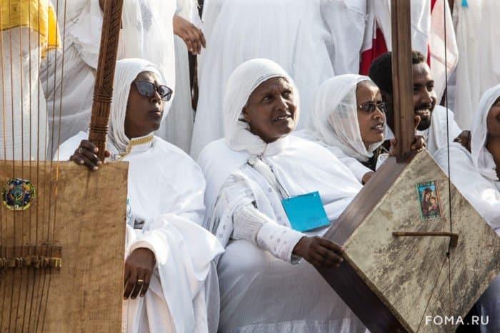 Крестовоздвижение по-эфиопски: фоторепортаж об одном из самых грандиозных христианских праздников в Африке